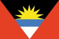 Antigua Barbuda 2X3' Solar-Max Dyed Nylon Outdoor Flag