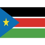South Sudan 3x5' Solar-Max Dyed Nylon Outdoor Flag
