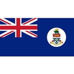 Cayman Islands  Flag 12 x 18in Solar-Max Dyed Nylon Outdoor