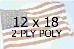 US 12 X 18' 2-PLY POLYESTER OUTDOOR FLAG
